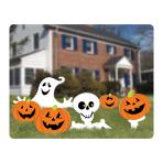 Pumpkins & Ghosts Garden Corrugated Signs - 6 PKG/6