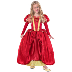 Historical Medieval Queen Costume - Age 3-5 Years - 1 PC