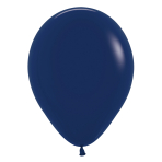 "Fashion Colour Solid Navy Blue 044 Latex Balloons 12""/30cm - 50 PC"