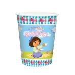 Dora The Explorer Paper Cups 266ml - 6 PKG/8