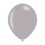 "Metallic Silver Latex Balloons 11""/27.5cm - 10PKG/10"