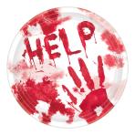 Help Me Paper Plates 17cm - 12 PKG/18