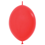 """Fashion Colour Link-O-Loon Solid Red 015 Latex Balloons 12""""/30cm - 50 PC"""