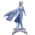 """Frozen 2 Elsa Sitter Foil Balloons 19""""/48cm w x 25""""/63cm h P50 - 5 PC"""