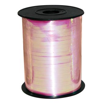 Iridescent Pink Ribbon Spool 230m x 5mm - 1 PC