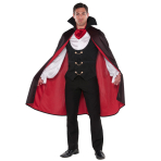 Adults True Vampire Costume - Size M - 1 PC