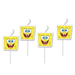 SpongeBob Mini Figurene Candles - 5 PKG/4