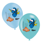 Finding Dory Latex Balloons - 6 PKG/6