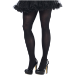 Black Tights - Plus Size - 6 PC