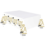 The Adventure Begins Plastic Tablecovers 1.37 x 2.6m - 6 PC