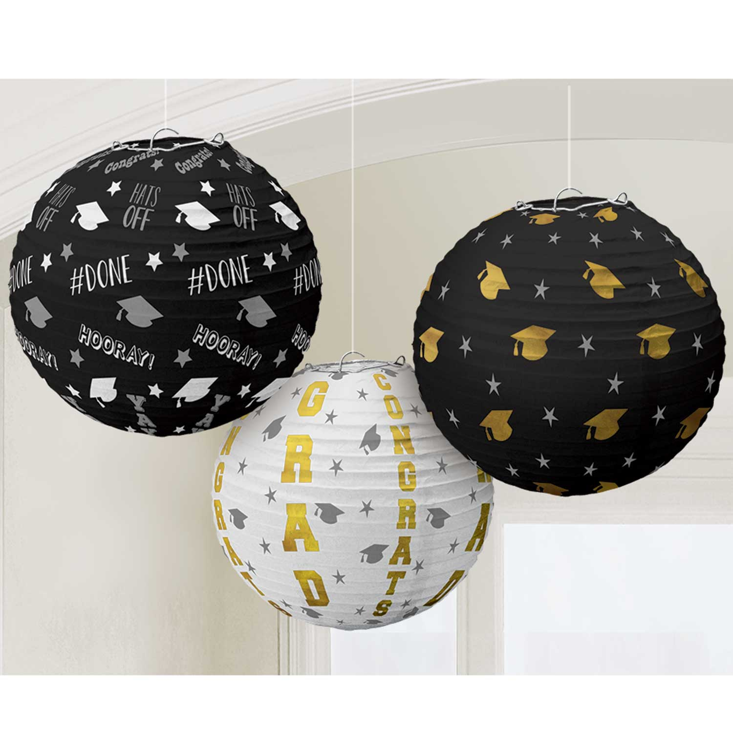 graduation paper lanterns Shop fun express for the best assortment available in wholesale & bulk paper lanterns and lights to compliment your party themes and ideas save at least 20% with free shipping on orders over $125.