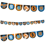 NERF Pennant Target Banners - 6 PC