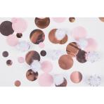 Rose Gold Puff Ball Confetti 25g - 6 PC