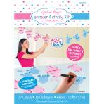 Girl or Boy Banner Activity Kit - 6 PKG/36
