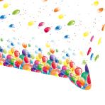 Balloon Fiesta Plastic Tablecovers 1.2m x 1.8m - 10 PC