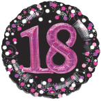 Pink Celebration 18 Foil Multi-Balloons P75 - 5 PC