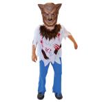 Boys Werewolf Costume - Age 6-8 Years - 1 PC