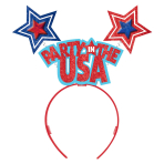 4th of July Party in the USA Headbands - 6 PC