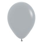 "Fashion Colour Solid Grey 081 Latex Balloons 5""/13cm - 100 PC"