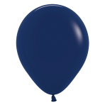 """Fashion Colour Solid Navy Blue 044 Latex Balloons 5""""/13cm - 100 PC"""
