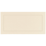 Ivory Pearl Place Cards - 10cm x 10cm - 12 PKG/50