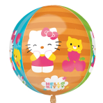 "Orbz Hello Kitty Foil Balloons 15""/38cm w x 16""/40cm h G40 - 5 PC"