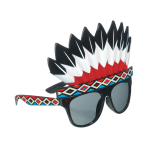 Fun Shades Indian Head Dress Tinted - 6 PC