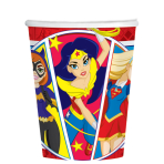 DC Super Hero Girls Paper Cups 266ml - 6 PKG/8