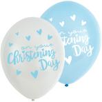 "Christening Pink Latex Balloons 11""/27.5cm - 6 PKG/6"