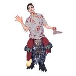 Rida-Zombie Costume - One Size - 1 PC