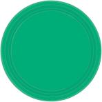 Festive Green Paper Plates 23cm - 6 PKG/20
