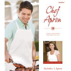 Disposable Chef's Apron - 6 PKG