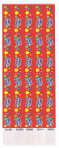 Wristbands Party Time Design - 3 PKG/100