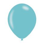 """Pearlised Robin's Egg Blue Latex Balloons 11""""/27.5cm - 10PKG/10"""