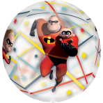 The Incredibles 2 Clear Orbz Foil Balloons G40 - 5 PC