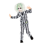 Beetlejuice Costume Boys - Age 6-8 Years - 1 PC