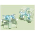 Clear Blue Favour Boxes - 6 PKG