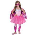 Barbie Super Power Princess Girls Costume - Age 5-7 years - 1 PC