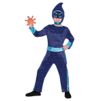 PJ Masks Night Ninja Costume - Age 3-4 Years - 1 PC