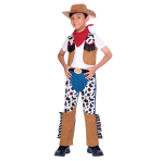 Cowboy Costume - Age 10-12 Years - 1 PC