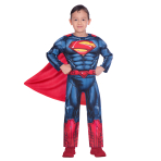 Superman Classic Costume - Age 8-10 Years - 1 PC