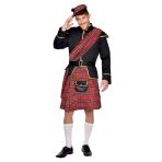 Scottish Man Costume - Size S - 1 PC