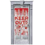 Dripping Blood Door Gore Decorations 85cm x 1.65m - 12 PKG