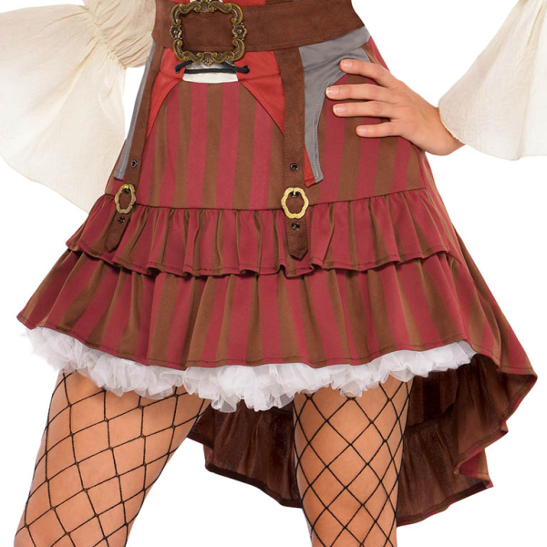 3746407c1be Adults Castaway Pirate Costume - Size 8-10 - 1 PC : Amscan International
