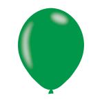 "Metallic Green Latex Balloons 11""/27.5cm - 10PKG/10"