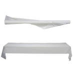 Jumbo White Table Rolls 1m x 76m - 1 PC