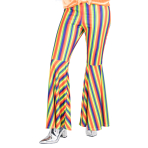 Rainbow Striped Flares - Size 8-10 - 1 PC