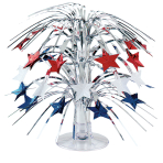 USA Stars Mini Cascade Centrepieces 21.5cm - 12 PC