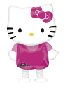 "Hello Kitty AirWalkers Foil Balloon 15.5""/39cm w x 23.5""/59cm h - P60 5 PC"