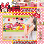 Disney Party Games Minnie Mouse Target Ball Party Games- 6 PKG/12